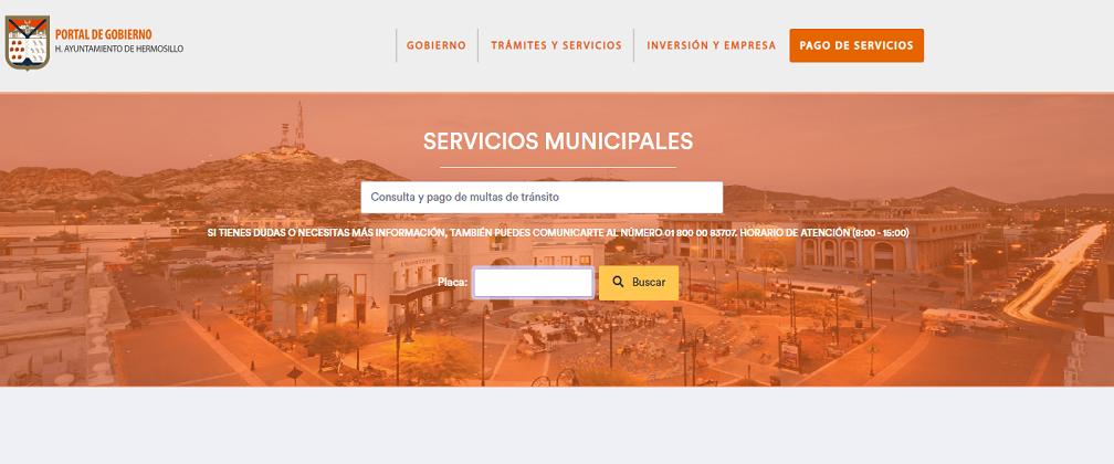 Infracciones en Hermosillo: Consulta y Pago